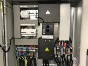 Installation électrification refuge